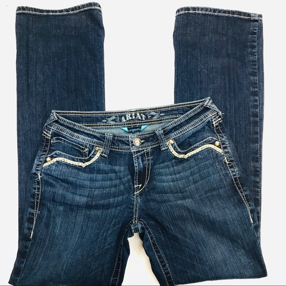 Ariat Denim - SOLD!! - y'all waited too long!!!!  Ariat Turquois